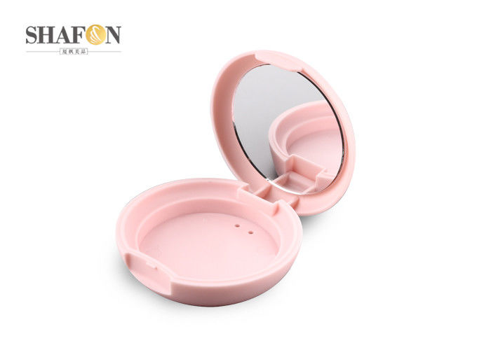 Customized ABS Empty Compact Makeup Cases , Small Size BB Cream Compact 5g