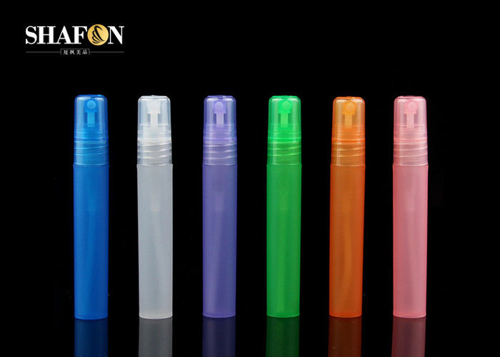 PP Plastic Empty Refillable Perfume Pen 15ml Customized Surface SGS Certification