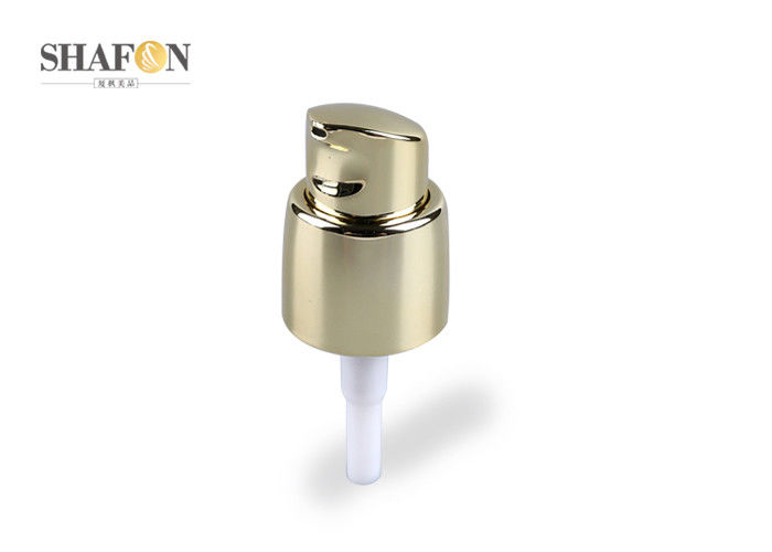Plated 18mm Perfume Spray Pump , Customized PP Cosmetic Pump Dispenser
